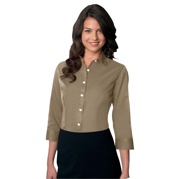 7ae1281718 Women s Van Heusen Easy-Care Dress Twill Shirt - GOimprints