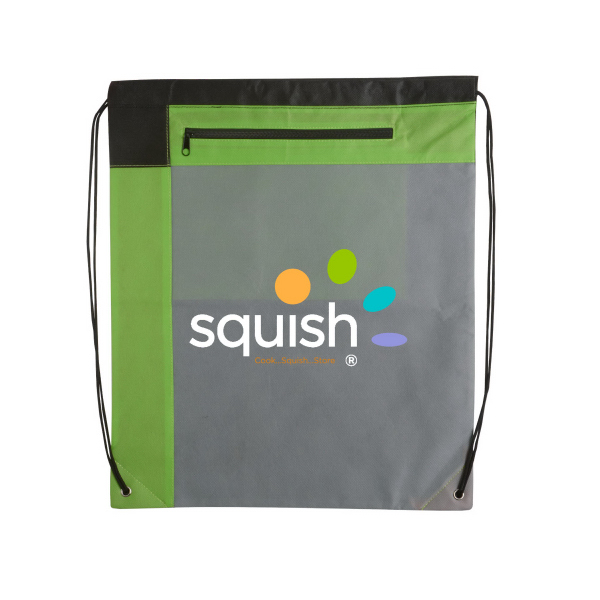 Gameday Large Non-Woven Drawstring Backpack