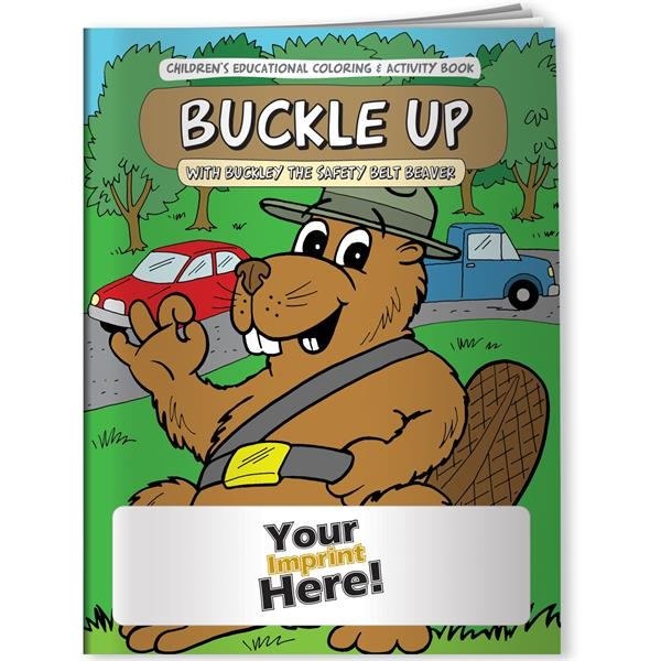 Coloring Book - Buckle Up with Buckley the Safety Belt Beave