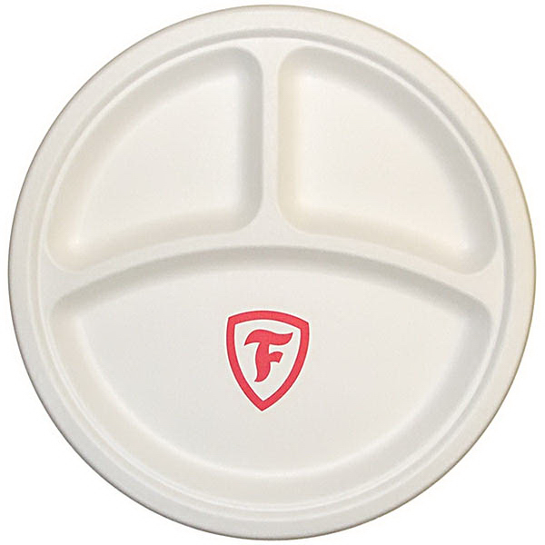 10  Round Compostable Paper Plate  sc 1 st  GOimprints : are paper plates compostable - pezcame.com