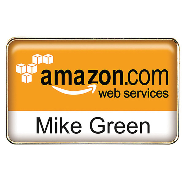 Die Cast Metal Name Badge - GOimprints