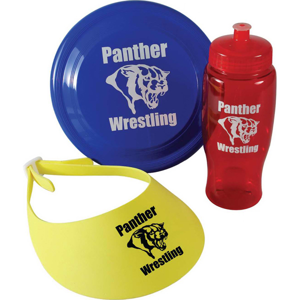 Fun-In-The-Park Kit, Bottle, Flyer and Visor