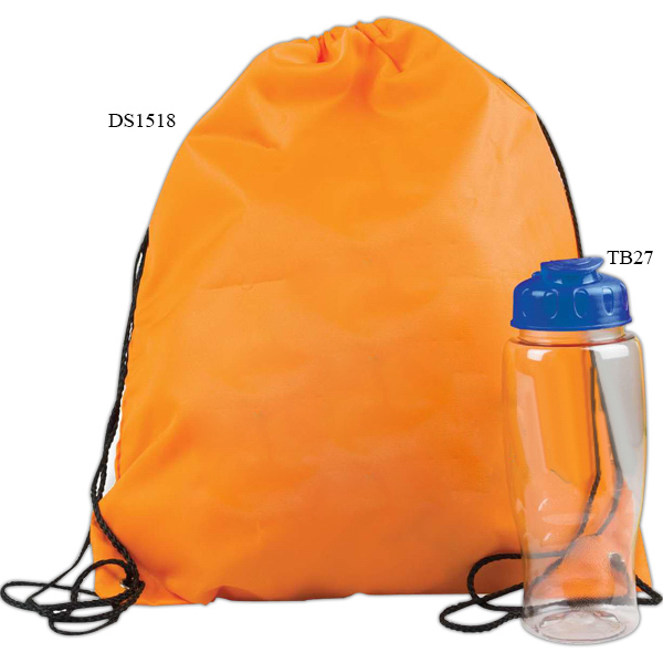 Drawstring Backpack in a Bottle