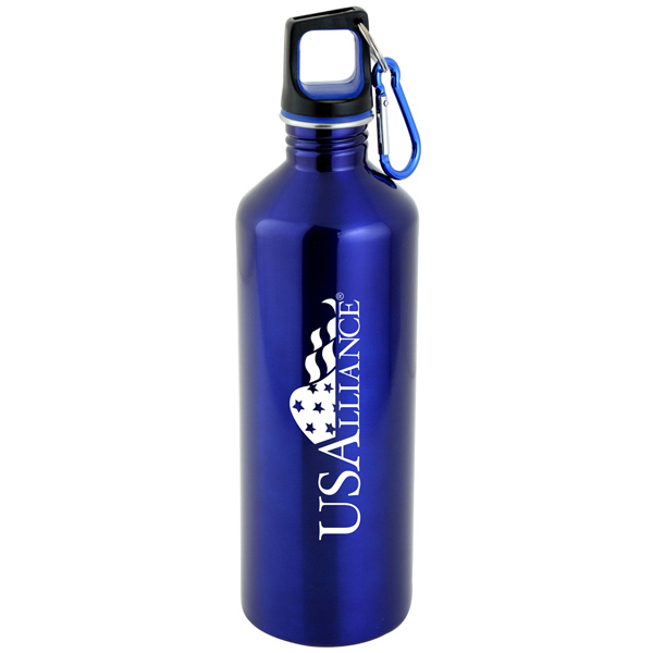 25 oz Endurance Water Bottle with Carabiner