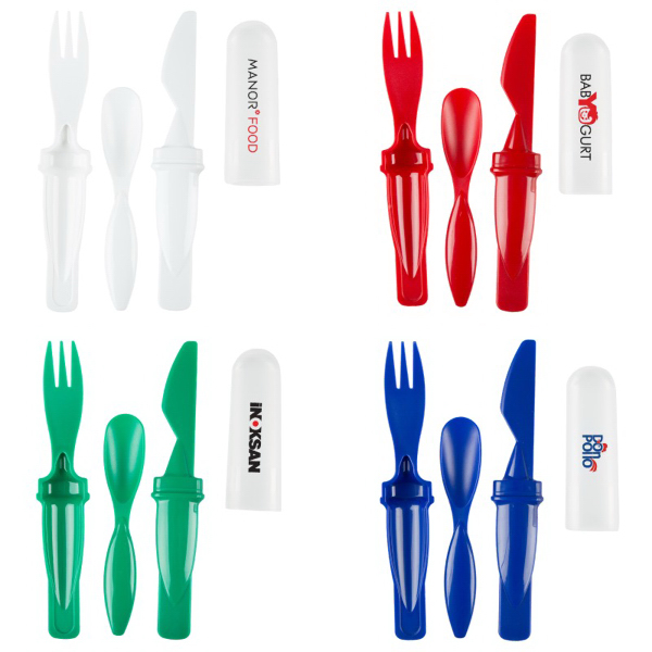 The Travelor 3 in 1 Utencil Set