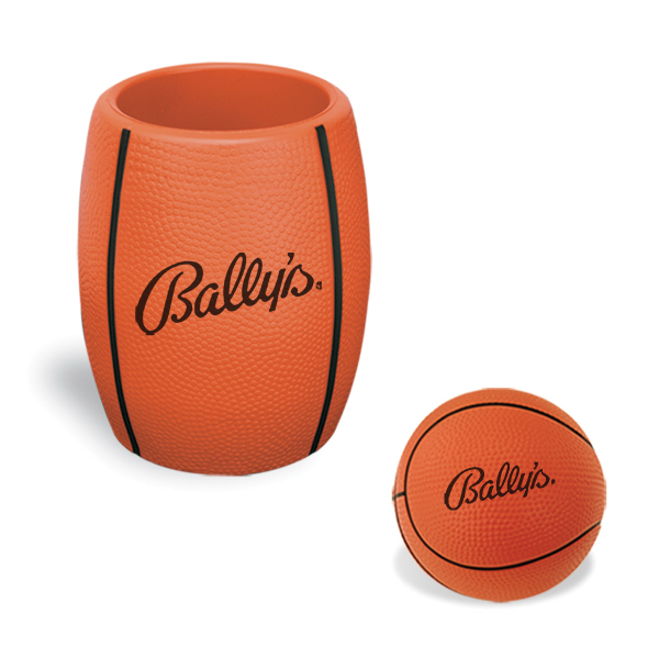 Basketball in Can Holder Combo