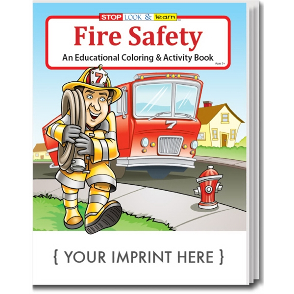Fire Safety Coloring Book - GOimprints
