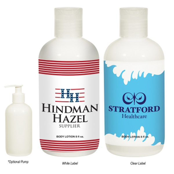 Discount 8 oz. Hand and Body Lotion Bottle